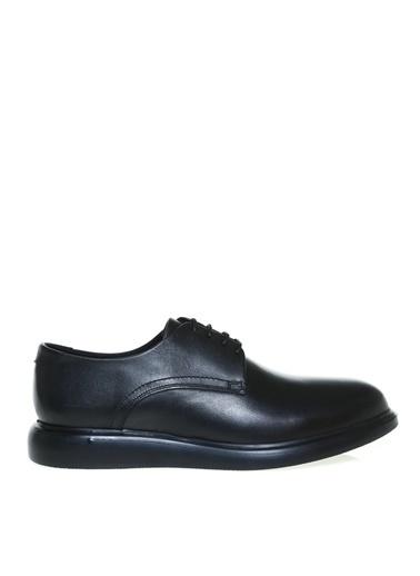 Cotton Bar Cotton Bar Erkek Düz Siyah Deri Klasik Ayakkabı Siyah